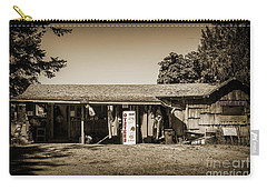 Carry-all Pouch featuring the digital art Oysters by Kirt Tisdale