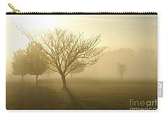 Ozarks Misty Golden Morning Sunrise Carry-all Pouch by Jennifer White