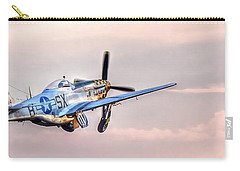 P-51 Mustang Taking Off Carry-all Pouch