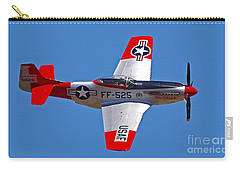 P-51d Mustang Flyby Carry-all Pouch