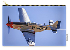 P51d Mustang At Reno Air Races Carry-all Pouch