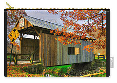 Pa Country Roads - Scott Covered Bridge Over Ten-mile Creek No. 1 - Greene County Carry-all Pouch