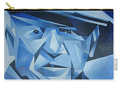 Pablo Picasso The Blue Period Carry-all Pouch by Tracey Harrington-Simpson