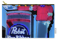 Pabst Blue Ribbon Neon Sign Fremont Street Carry-all Pouch