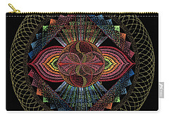 Pachamama Carry-all Pouch by Keiko Katsuta