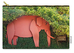 Pachyderm Sign Carry-all Pouch