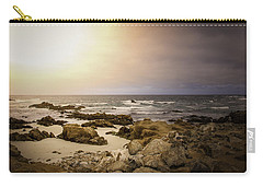 Carry-all Pouch featuring the photograph Pacific Coastline by Ryan Photography