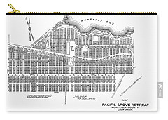 Pacific Grove May 7 1887 Carry-all Pouch