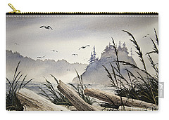 Pacific Northwest Driftwood Shore Carry-all Pouch