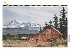 Pacific Northwest Landscape Carry-all Pouch