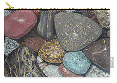 Pacific Nw Beach Rocks Carry-all Pouch
