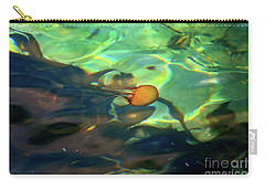 Carry-all Pouch featuring the photograph Pacific Sea Nettle Jellyfish by Susan Wiedmann