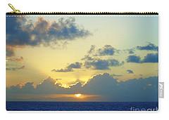 Pacific Sunrise, Japan Carry-all Pouch by Susan Lafleur
