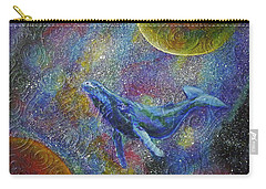 Pacific Whale In Space Carry-all Pouch