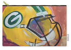 Packer Helmet Carry-all Pouch by Terri Einer