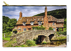Packhorse Bridge At Allerford, Uk Carry-all Pouch