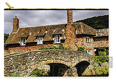 Packhorse Bridge At Alllerford, Uk Carry-all Pouch