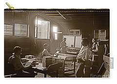 Carry-all Pouch featuring the photograph Packing Cigars Key West Florida by John Stephens