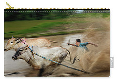 Pacu Jawi Bull Race Festival Carry-all Pouch