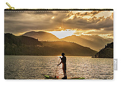 Paddle Boarder In Summit Cove Carry-all Pouch