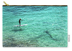Paddle The Aqua Sea Carry-all Pouch