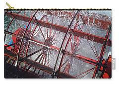 Paddle Wheel No. 7-1 Carry-all Pouch by Sandy Taylor