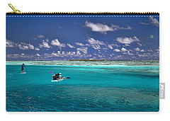 Paddling In Moorea Carry-all Pouch by David Smith