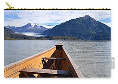 Paddling On Mendenhall Lake Carry-all Pouch