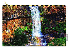 Carry-all Pouch featuring the photograph Paddy's Falls by Blair Stuart