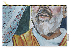 Padre Pio Carry-all Pouch by Bryan Bustard