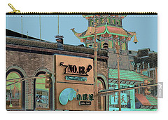 Pagoda Tower Chinatown Chicago Carry-all Pouch