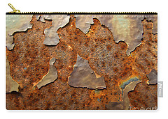 Paint And Rust Photograph Carry-all Pouch