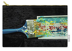 Paint My World Carry-all Pouch by Gallery Messina