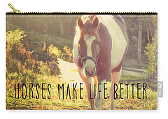 Paint Pony Quote Carry-all Pouch
