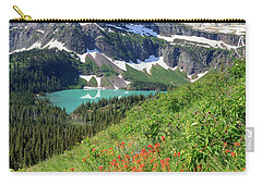 Paintbrush Above Grinnell Lake Carry-all Pouch