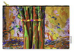 Painted Asparagus Carry-all Pouch