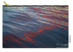 Painted By Nature - Water On The Flight Through The Fiery Skies Carry-all Pouch