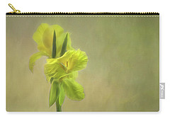 Painted Canna Carry-all Pouch