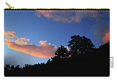 Carry-all Pouch featuring the photograph Painted Clouds by Shane Bechler