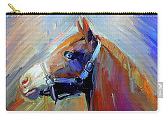 Painted Color Horse Carry-all Pouch