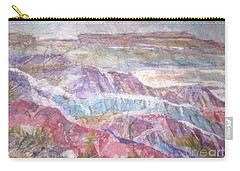 Painted Desert Carry-all Pouch by Ellen Levinson