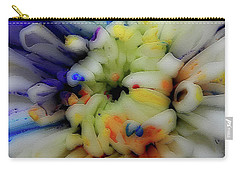 Painted Flowers #6253_0a Carry-all Pouch