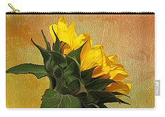 Painted Golden Beauty Carry-all Pouch by Judy Vincent