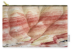 Carry-all Pouch featuring the photograph Painted Hill Bumps by Greg Nyquist