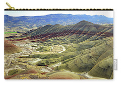 Painted Hills Panorama  Carry-all Pouch