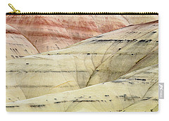 Carry-all Pouch featuring the photograph Painted Hills Ridge by Greg Nyquist