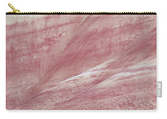 Carry-all Pouch featuring the photograph Painted Hills Textures 1 by Leland D Howard