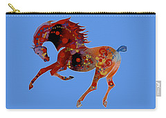 Painted Horse 3 Carry-all Pouch by Mary Armstrong