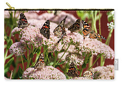 Painted Ladies Gathering Carry-all Pouch