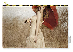 Painted Lady Narrow Carry-all Pouch
